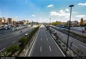 کاهش 85 درصدی ترافیک تهران در روز نخست تعطیلات کرونایی