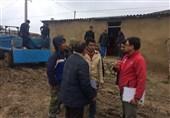 گلستان  رانش زمین در روستاهای مرزی مراوهتپه؛مردم در مدرسه اسکان داده شدند+تصاویر