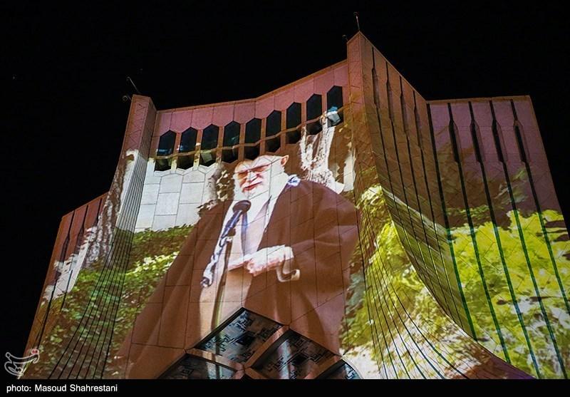 ویدئو مپینگ برج آزادی همزمان با روز جمهوری اسلامی ایران