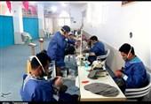 کارگاه تولید ماسک در جنوب شیراز با همت گروه جهادی شهید ابراهیم هادی راهاندازی شد+ تصاویر