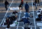 """""""اسکان در پارکینگ"""" راهحل آمریکا برای بیخانمانان این کشور! + تصاویر"""