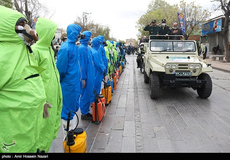 Public Health Operations to Replace National Army Day Parades in Iran