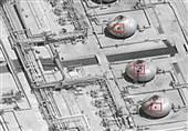 عربستان| آتشسوزی بزرگ در مخزن سوخت آرامکو در پی عملیات موشکی انصارالله