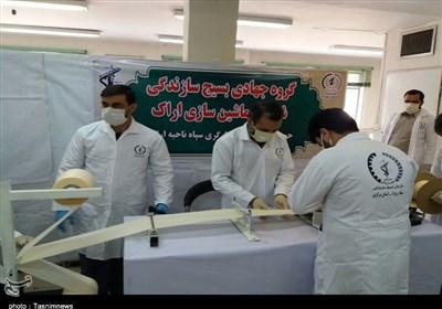 500 هزار ماسک بهداشتی توسط 60 کارگاه گروههای جهادی استان مرکزی تولید شد