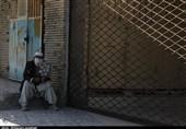 سکوت بازار معروف «رسولی» زاهدان در سایه کرونا به روایت تصویر