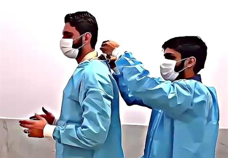 سفیدپوشان سمنان هم شهید مدافع سلامت تقدیم انقلاب کردند