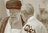 شرط عبور از بحرانها در کلام رهبر انقلاب و شهید سلیمانی