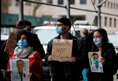 اعتراض مجدد کادر درمانی آمریکا به کمبود تجهیزات مقابله با کرونا+تصاویر