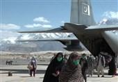 پاک فضائیہ کا سی -130 طیارہ زائرین کو لے کر اسکردو پہنچ گیا