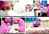 خوزستان| بیش از 22 هزار اقلام مورد نیاز بیمارستان ها توسط زنان خودسرپرست تولید شد