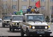 رزمایش دفاع بیولوژیک سپاه حضرت عباس(ع) استان اردبیل به روایت تصویر