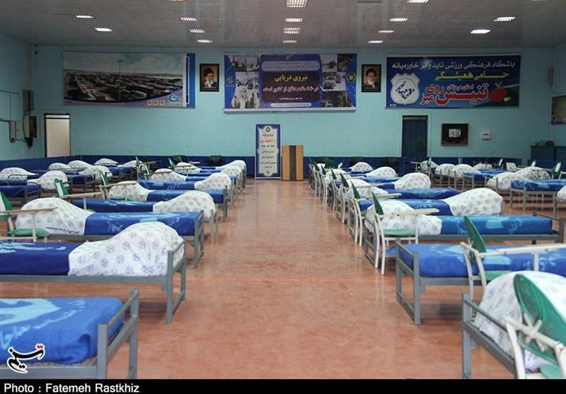 گزارش ویدئویی تسنیم| عزم نیروی دریایی ارتش برای شکست کرونا / تکمیل و تجهیز نقاهتگاه 100 تختخوابی در بندرعباس