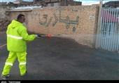 تداوم ضدعفونی خیابانهای سطح شهر ارومیه بهروایت تصویر