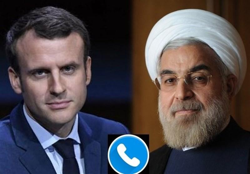 روحانی به مکرون: برقراری سازوکار اینستکس مثبت، اما ناکافی است/ ایران از هیچ تنشی در منطقه استقبال نمیکند
