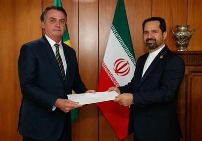 سفیر جدید ایران استوارنامهاش را تسلیم رئیسجمهوری برزیل کرد