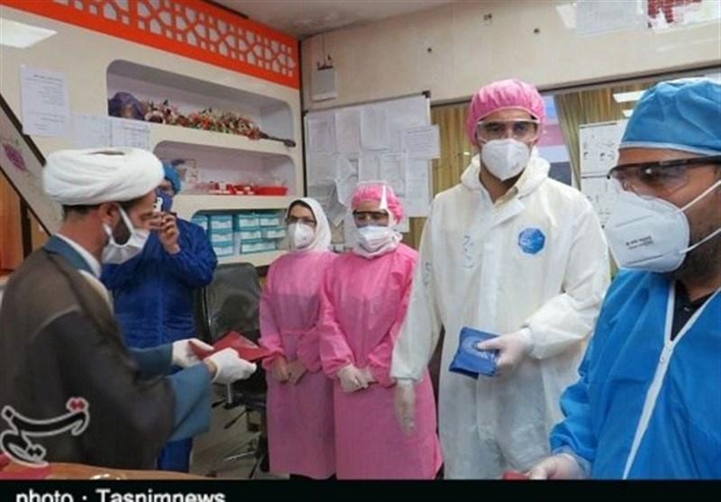 وزیدن نسیم مهر رضوی در بیمارستان های استان لرستان؛ تقدیر آستان قدس رضوی از مدافعان سلامت+تصاویر