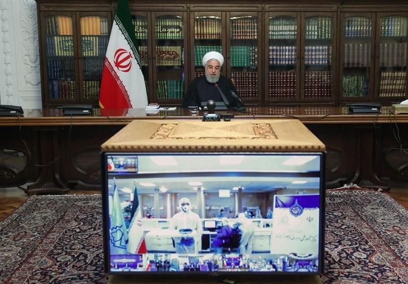 گفتوگوی رئیس جمهور با رئیس دانشگاه علوم پزشکی یاسوج / قدردانی روحانی از مردم بابت رعایت اصول بهداشتی