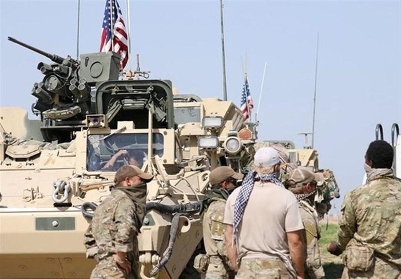 حمله به خودروهای نظامیان تروریست آمریکایی در دیرالزور سوریه