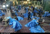 تهران| تولید روزانه 1500 گان بیمارستاتی توسط خیرین منطقه 19 + تصاویر