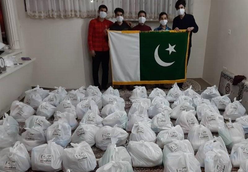 پاکستانی عوام کی طرف سے مشہد مقدس میں امدادی سامان تقسیم+ تصاویر