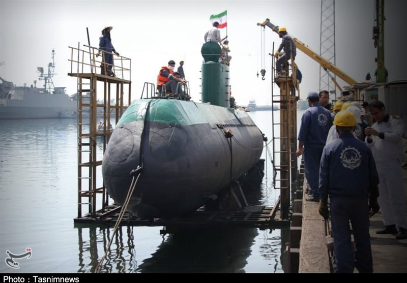 دستاوردی دیگر از متخصصان وزارت دفاع / الحاق زیردریایی غدیر کلاس 943 به نیروی دریایی ارتش