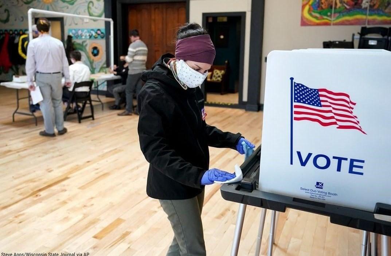 کشور آمریکا , حزب دموکرات ایالات متحده آمریکا , انتخابات 2020 آمریکا , ویروس کرونا , کووید-19 ,