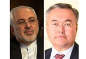 Iran, Kazakhstan FMs Discuss Coronavirus Battle