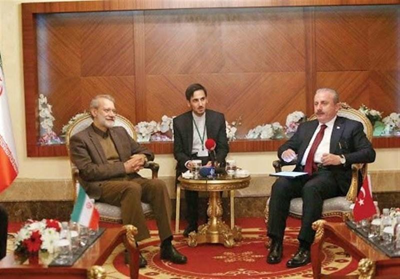 Iranian, Turkish Parliament Speakers Discuss Coronavirus Battle