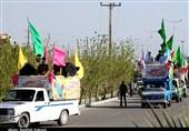 گزارش ویدئویی| وقتی کرونا هم نتوانست مانع جشن غدیر شود/ کاروانهایی که کام را در پارسیان شیرین کردند