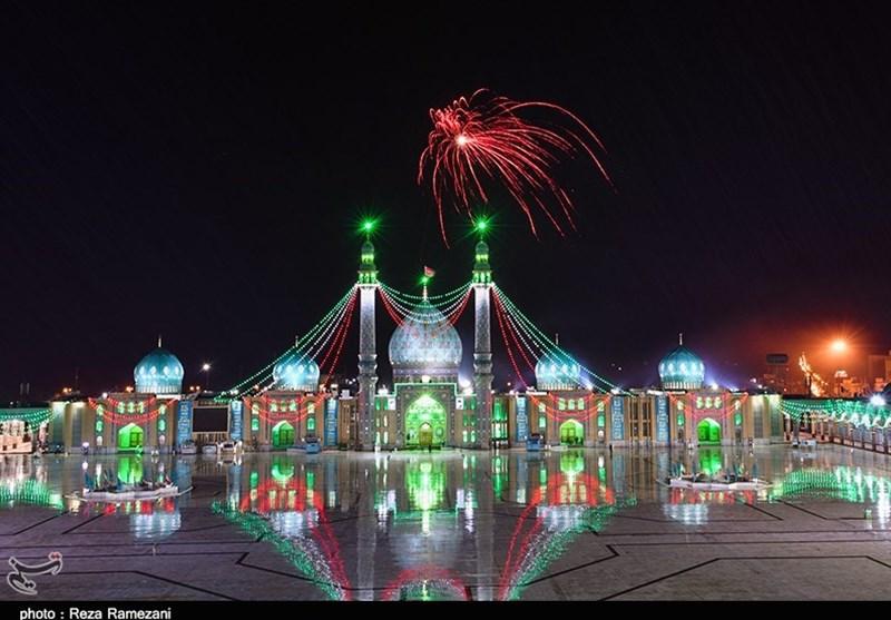 گزارش  نیمه شعبانی متفاوت در ایران اسلامی / جای منتظران حضرت مهدی (عج) در جمکران خالی بود + فیلم و تصاویر