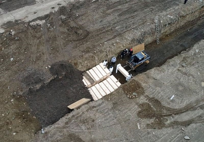 Prisoners in Hazmat Suits Bury NYC Covid-19 Victims in Mass Graves (+Video)