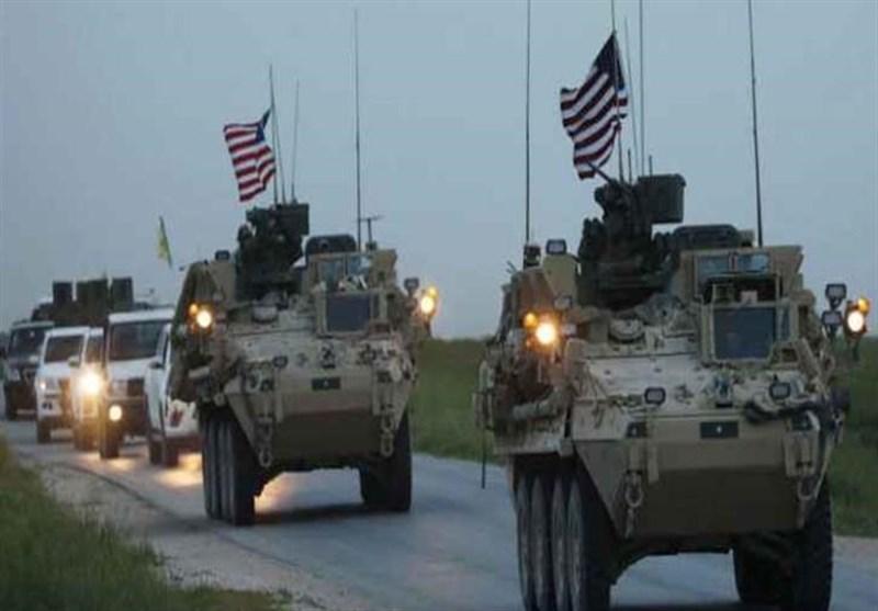 القوات الأمریکیة أخلت موقعها من ریف الحسکة ونقلت آلیاتها الى العراق
