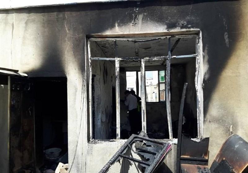 تهران  کشف جسد 4 نفر حین اطفای آتشسوزی + تصاویر