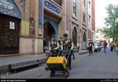 تهیه و توزیع روزانه ماسک و موادضدعفونی کننده در پایگاه عاشورا و حوزه 231 والعصر + عکس