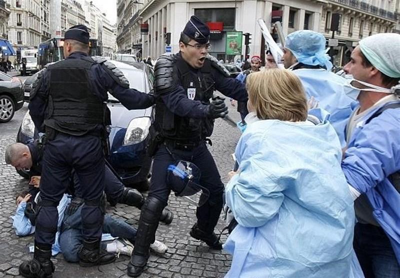 هشدار سرویسهای اطلاعاتی فرانسه درباره بروز شورش پس از پایان قرنطینه