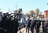 بازدید امیر خانزادی از منطقه چهارم نیروی دریایی ارتش