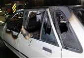 کشف جسد سوخته مرد جوان در آتشسوزی خودروی پراید + تصاویر