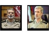 پیام تسلیت وزیر دفاع به فرمانده ارتش