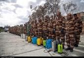 نمایش تجهیزات و سامانه های رفعآلودگی ارتش در مراسم «رژه خدمت»