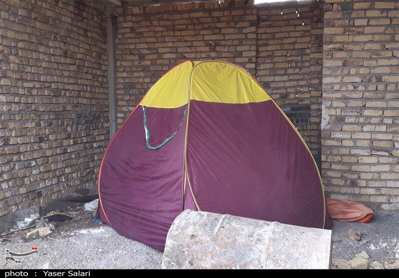 گزارش ویدئویی تسنیم| اینجا «کلاته نو»؛ مردمانش در چادرهای مسافرتی زندگی میکنند / مسئولان «روکش پلاستیکی» هم ندادند