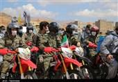 نیروهای مقاومت بسیج استان قزوین برای رعایت پروتکلهای بهداشتی وارد عمل میشوند
