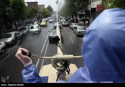 رزمایش خدمت ارتش در تهران