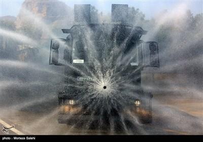 رزمایش خدمت ارتش در اصفهان