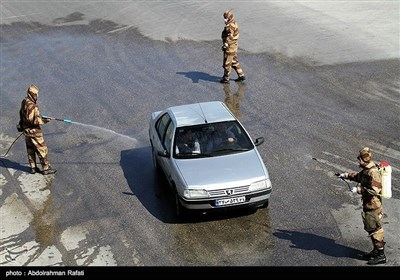 رزمایش خدمت ارتش در همدان