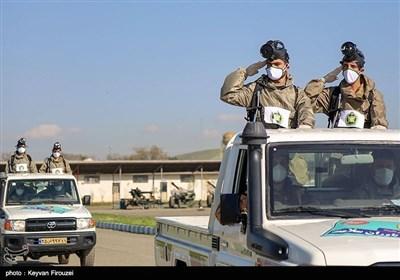 رزمایش خدمت ارتش در سنندج