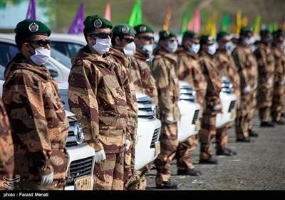 رزمایش خدمت ارتش در کرمانشاه