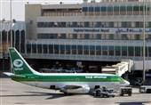 شکلیک موشک کاتیوشا به فرودگاه بینالمللی بغداد