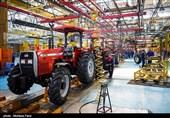 بازدید وزیر صنعت، معدن و تجارت از کارخانه بزرگ تراکتورسازی ایران در تبریز+تصاویر
