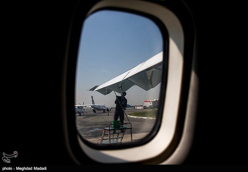 46 درصد ناوگان هوایی مسافری کشور فعال است