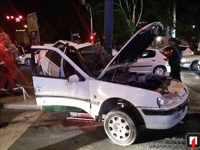 آتشنشانی , سازمان آتشنشانی تهران , اورژانس , حوادث جادهای ,